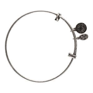 Picture of Nickel Free Silver Vintage Charm Bangle