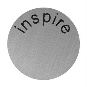 Picture of 'Inspire' Large Silver Coin